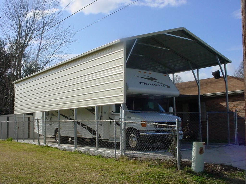 Metal Carports For Campers : Carports dyersburg tn tennessee steel rv